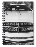 2014 Dodge Charger Rt Painted Bw Spiral Notebook