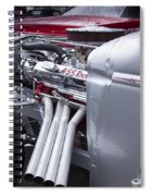 455 Rocket Spiral Notebook