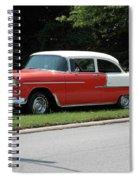 55 Chevy Spiral Notebook