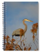7- Great Blue Heron Spiral Notebook