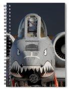 A-10 Warthog Spiral Notebook