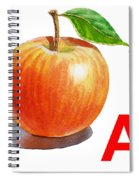 A Art Alphabet For Kids Room Spiral Notebook