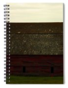 A Barn In Saskatchewan Spiral Notebook
