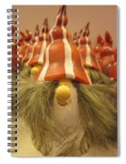 A Bunch Of Santas Spiral Notebook