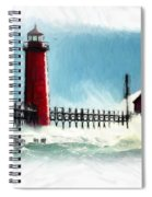A Day At The Coast Spiral Notebook