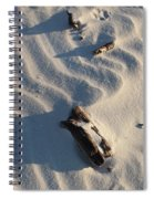A Line In The Sand Spiral Notebook
