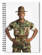 A Military Man Spiral Notebook