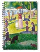 A Sunday On La Grande Jatte Spiral Notebook