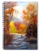 A Walk In The Fall Spiral Notebook