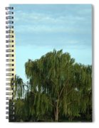 A Weeping Willow Washington Monument Spiral Notebook