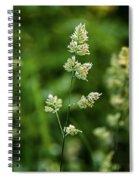 A World Of Green Spiral Notebook