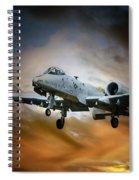 A10 Thunderbolt II Spiral Notebook