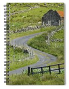 Abandoned Farm Building Spiral Notebook