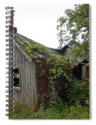 Abandoned Shed Spiral Notebook