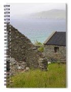 Abandoned Stone House, Slea Head Spiral Notebook