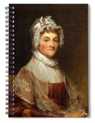Abigail Smith Adams By Gilbert Stuart Spiral Notebook