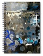 Abstract 695213 Spiral Notebook