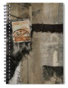 Abstract Japanese Collage Spiral Notebook