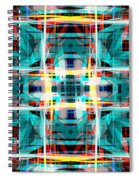 Abstract Pattern 5 Spiral Notebook