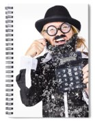 Accountant Crying Number Tears Spiral Notebook