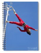 Acrobatic Performance Spiral Notebook