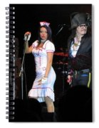 Adam Ant Spiral Notebook
