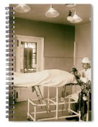 Administering Anesthesia 1922  Spiral Notebook