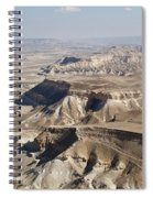 1-aerial Photography Of The Negev  Spiral Notebook