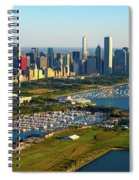 Aerial View Of Museum Campus Spiral Notebook