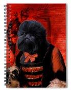 Affenpinscher Art By Nobility Dogs Spiral Notebook