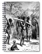 Africa Ivory Trade Spiral Notebook