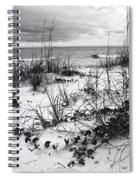 After The Storm Bw Spiral Notebook