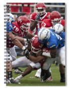 Air Force Versus Houston Spiral Notebook