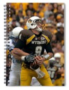Air Force Versus Wyoming Spiral Notebook