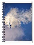 Air Show Selfridge Havilland Super Chipmunk Spiral Notebook
