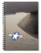 Airplanes At The Airshow Spiral Notebook