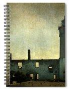 Alcatraz Island Lighthouse Spiral Notebook