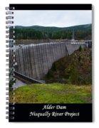 Alder Dam Spiral Notebook