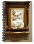 Alexander The Great By Andrea Del Verrocchio Spiral Notebook