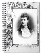 Alexandra Of Denmark (1844-1925) Spiral Notebook
