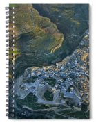 Alhama De Granada From The Air Spiral Notebook