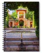 Alhambra In Granada Spiral Notebook