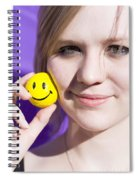 All Smiling Woman Spiral Notebook