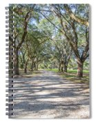 Lowcountry Allee Of Oaks Spiral Notebook