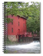 Alley Springs Mill  Spiral Notebook