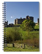 Alnwick Castle Spiral Notebook