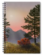 Alpine View Spiral Notebook