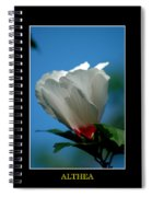 Althea Flower Spiral Notebook