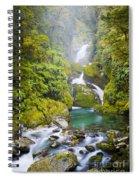 Amazing Waterfall Spiral Notebook
