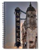 Ambler Theater - Ambler Pa Spiral Notebook